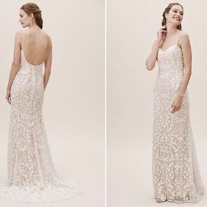 BHLDN Jenny Yoo Marseille Gown Size 12 Sample